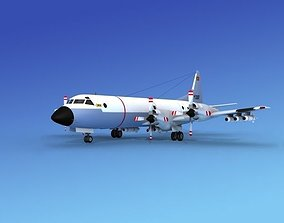 3D Lockheed P-3 Orion Portugal