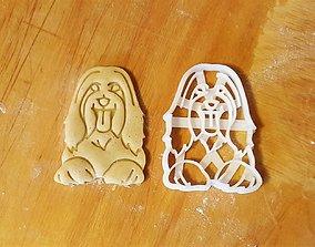 3D print model Sheepdog cookie cutter