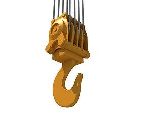 construction Crane Hook 3D model