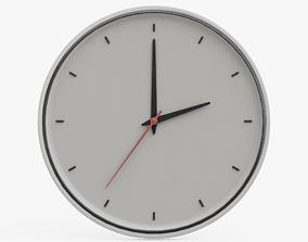3D asset Wall Clock 03