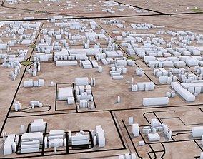 Umm Al Quwain City UAE 3D asset