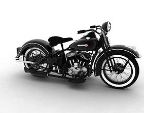 Harley-Davidson WL 1942 3D