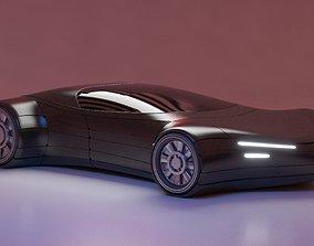 3D model Future Car 23