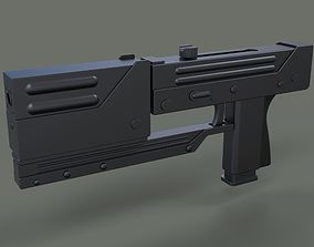 Modified MAC-11 from movie Blade 3D model