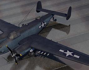 3D Lockheed PV-2 Harpoon