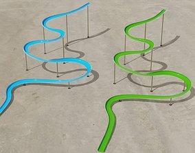 equipment Water Slide 3D models
