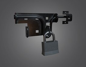 Lock and Padlock - 4K PBR Game Ready 3D asset