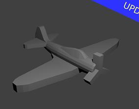 US TBD Devastator Torpedo Bomber 3D printable model