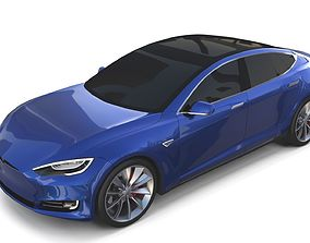 Tesla Model S 2016 Blue