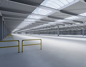 3D model Industrial Warehouse Interior 1