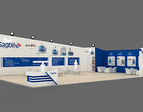 3D Exhibition Stand - ST0035