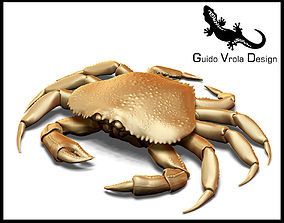 Printable Dungeness crab