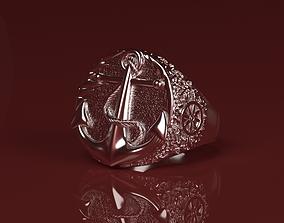 3D printable model Captains ring