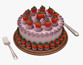3D candy Cake 002