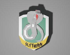3D print model slytherin logo