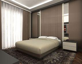 3D asset VR / AR ready Hotel room