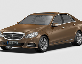 3D model 2014 Mercedes Benz E Class