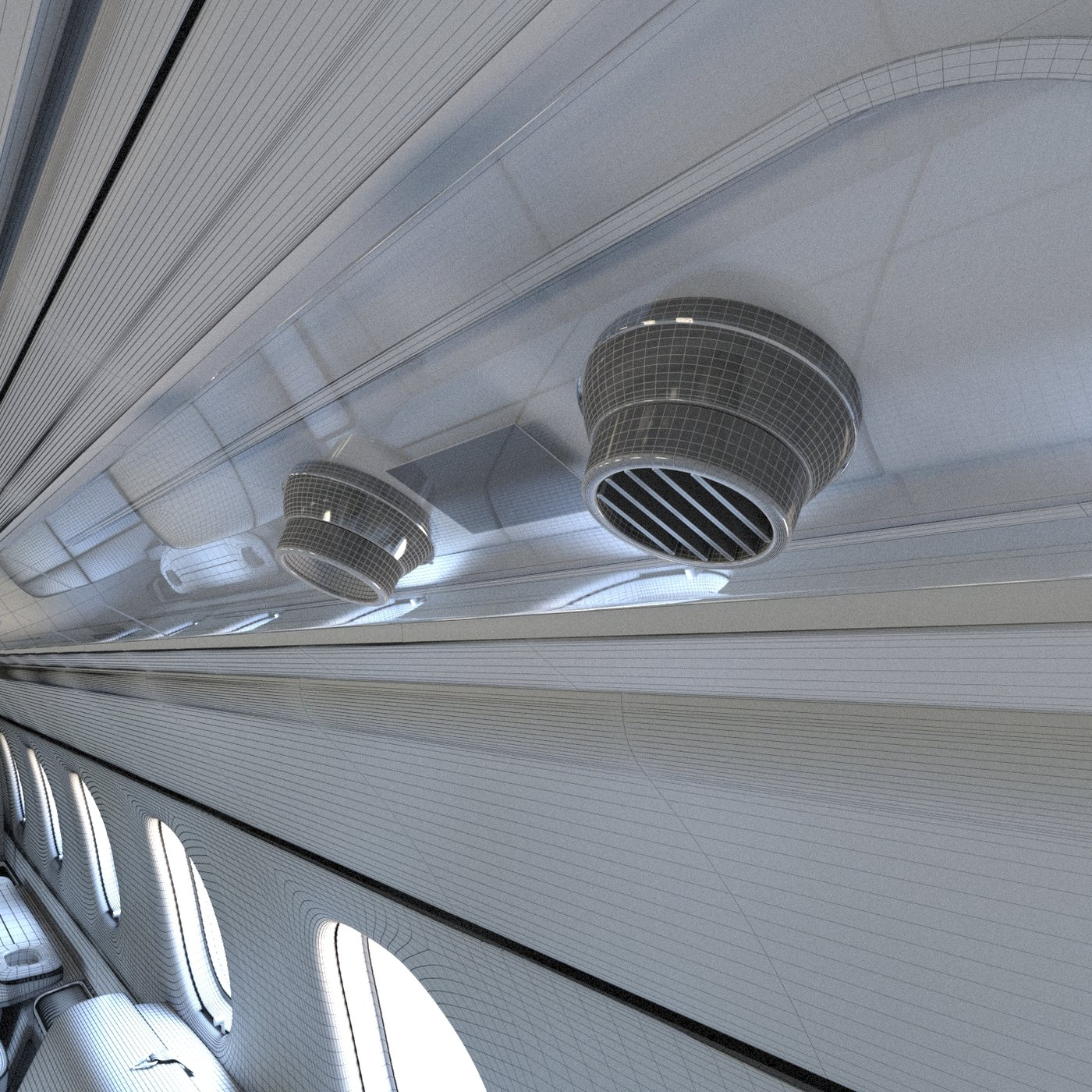 Interior Executive Aircraft - Embraer Legacy 500