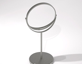 3D model stainless steel make up mirror