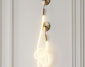 Wavelength Solo Quartz Small by Luke Lamp Co 3D model