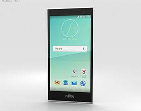 smartphone Fujitsu Arrows M02 White 3D