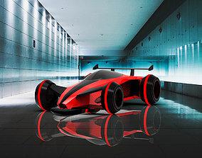 3D model E-Car speedster