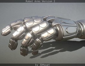 3D Robotarms version 2 rigged