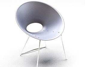 3D Innovative Metallic Chair