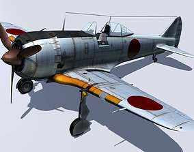 3D Nakajima Ki-44 shoki