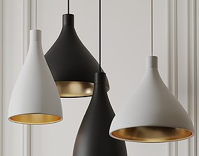 Swell Narrow and Medium Pendant Lights by Pablo Studio 3D