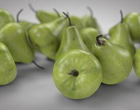 3D Pear Fruit