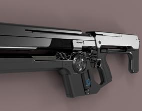 Destiny Uriels gift assault rifle 3D printable model 1
