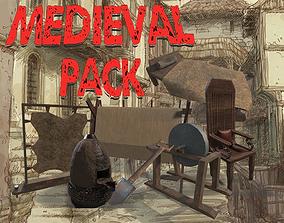 3D asset Medieval Pack