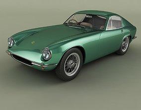 3D Lotus Elite Fastback