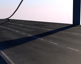 Modular Bridge 3D asset