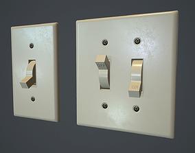 3D model Light Switch PBR Game Ready
