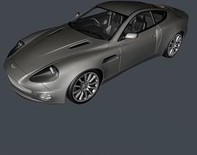 3D model Aston Martin Vanquish luxury sports coupe