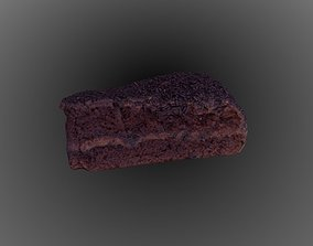 miscellaneous Chocolate Truffle Cake 3D model