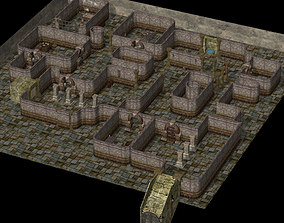Catacombs of Death 3D model