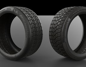Tyre Model and 4K Texture VR / AR ready