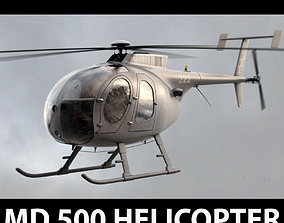 MD 500 Dark Gray 3D