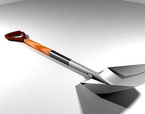 Garden Tool - Shovel 3D model