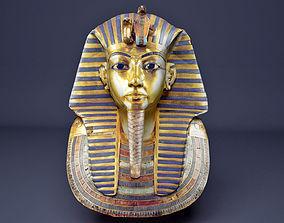 3D asset kING Tutankhamun Mask