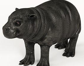 3D asset Hippo Baby Hogarndex