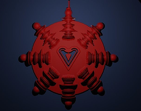 All You Need Is Love Pendant 3D printable model
