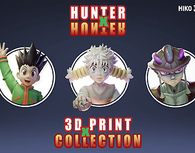 3D HunterxHunter Collection Bust
