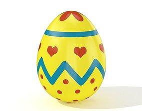 3D asset Easter egg N007