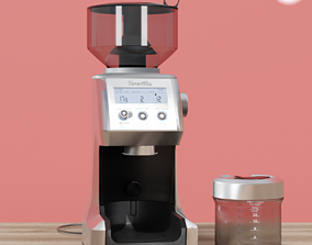 3D COFFEE GRINDER BREVILLE SMART PRO BRUSHED