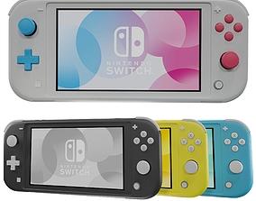 3D model Nintendo switch lite