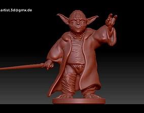 3D print model sculpture Yoda Sculpture